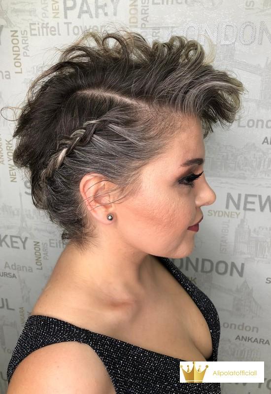 latest trend hairstyles, braid hair design
